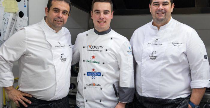 Cinco jóvenes cocineros disputarán la final de la II Aula Heineken