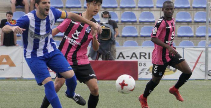 Pésimo resultado para el Tenerife B en Ejea de Los Caballeros