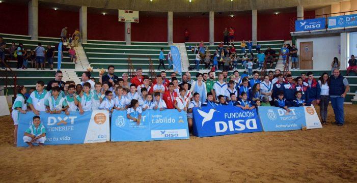 Campeonatos para las escuelas de San Miguel, Tegueste y Arafo, por partida doble, en los Juegos Cabildo de Tenerife