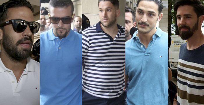 La Fiscalía pide el ingreso en prisión de los cinco miembros de La Manada