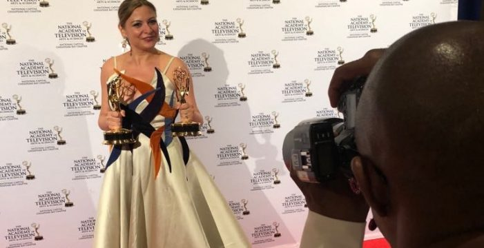 La tinerfeña María Rozman hace pleno y gana dos Premios Emmy más