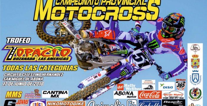 El motocross vuelve el domingo al circuito de San Miguel