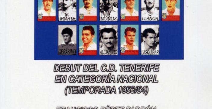 Francisco Pérez rememora el debut del Tenerife en Segunda
