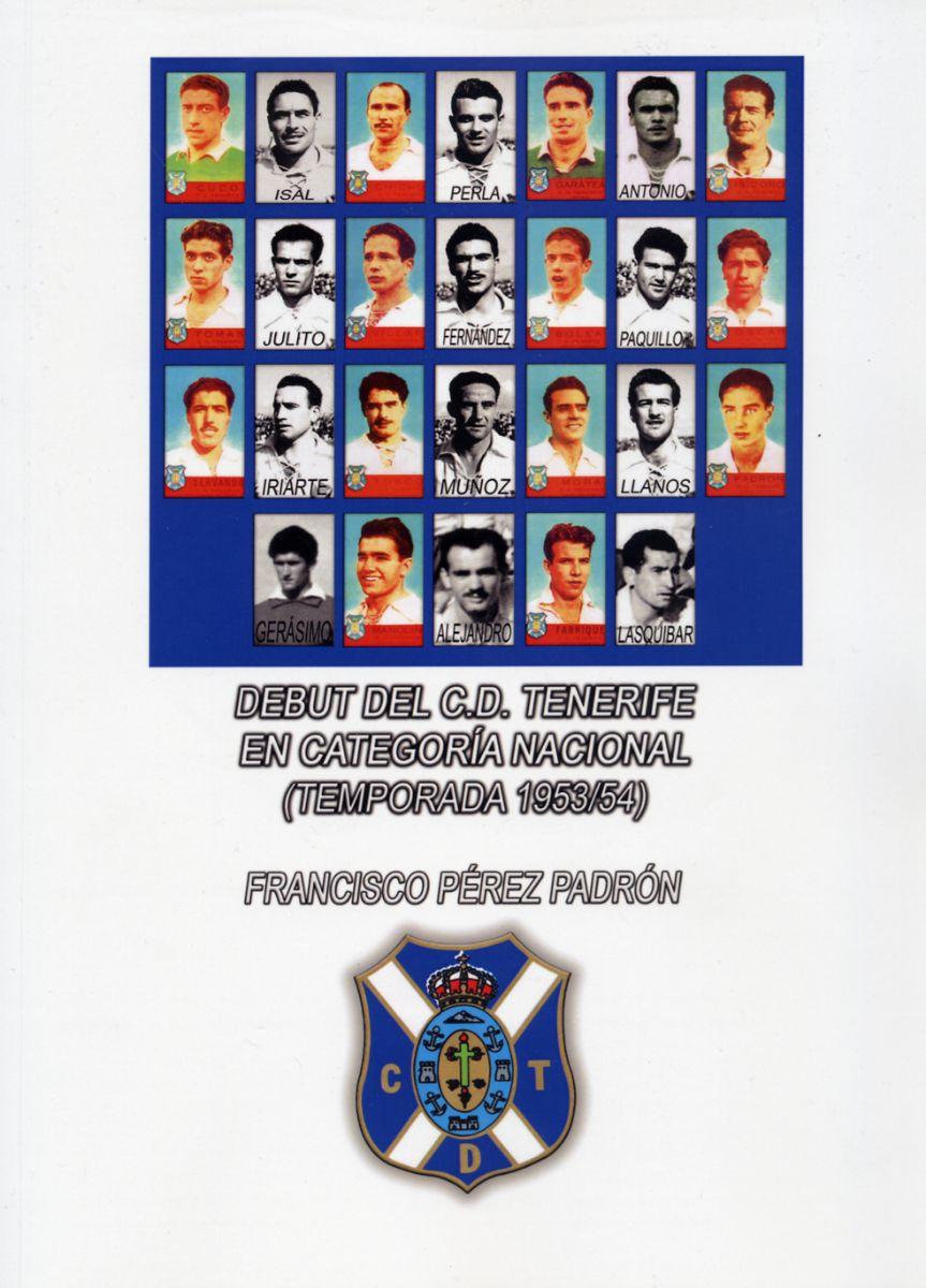 Portada del libro del ascenso del CD Tenerife 1953 1954
