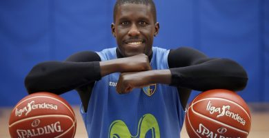 El senegalés es el jugador extranjero que más partidos ha disputado en ACB| JAVIER BARBANCHO