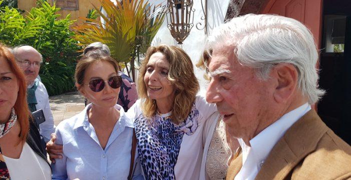 Vargas Llosa acerca en La Palma la literatura a las estrellas