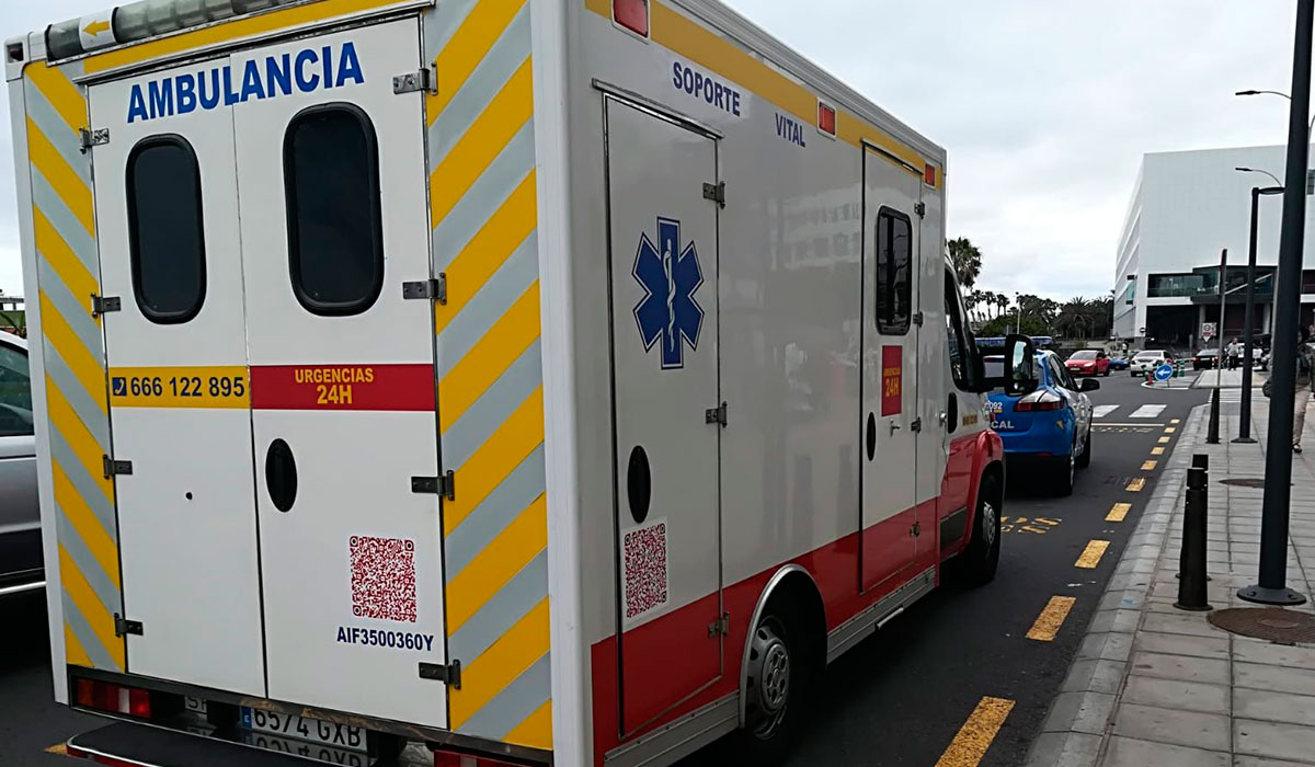 Ambulancia sin papeles