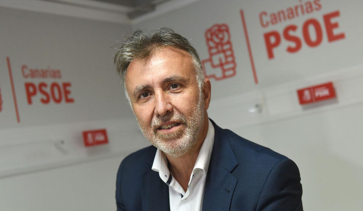Ángel Víctor Torres, secretario general del PSC-PSOE