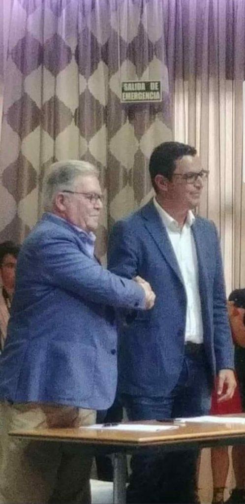 Pablo Rodríguez y José Miguel Bravo de Laguna. | DA