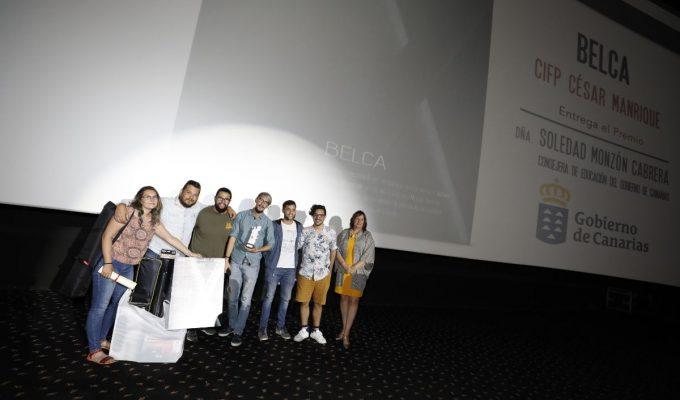 El CIFP César Manrique se lleva el Gran Premio del Cinedfest