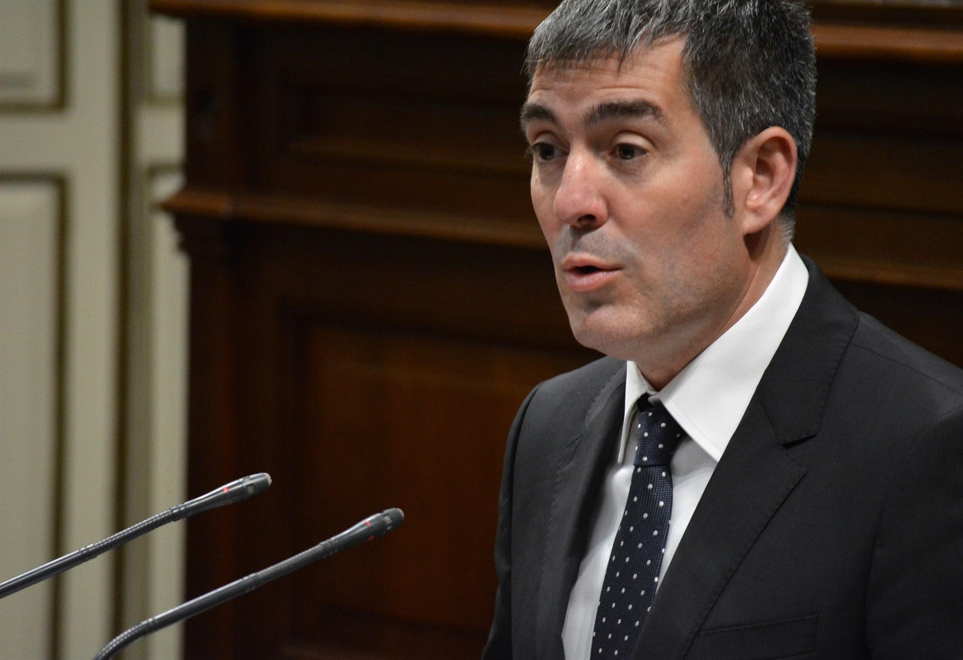 Fernando Clavijo, presidente del Gobierno de Canarias. | EP
