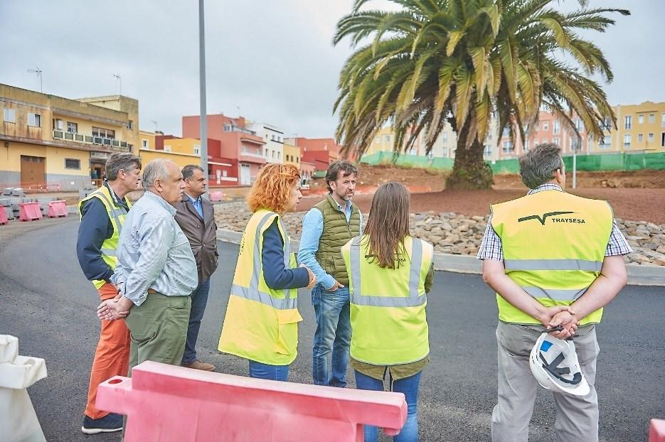 La finalidad de la obra  es reducir la congestión del tráfico que afecta a la TF-5. | DA
