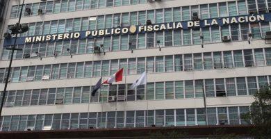 FISCALÍA PERÚ MINISTERIO PÚBLICO