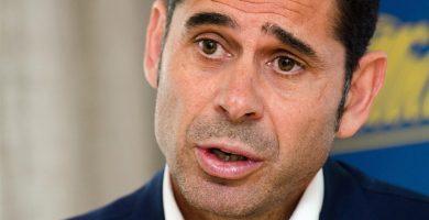 Fernando Hierro / EUROPA PRESS