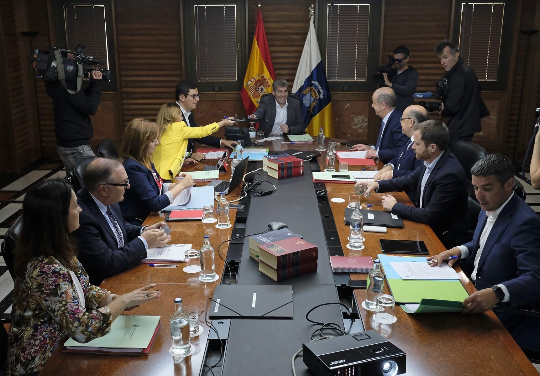 Consejo de Gobierno del Gobierno de Canarias
