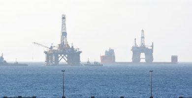 Plataforma de petróleo en Tenerife