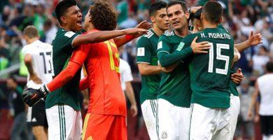 México vence a Alemania (0-1): Chicharito llora y la tierra tiembla en Ciudad de México