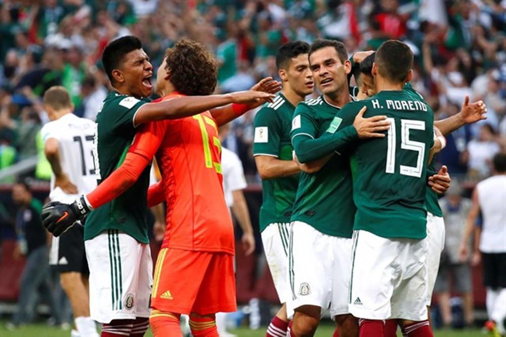 8af749e63ce1 Victoria histórica de México contra Alemania en el Mundial de Rusia.   EP