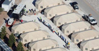 Campos de detención de los emigrantes en EEUU. / EP