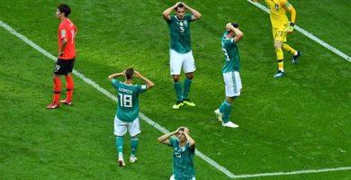 Imagen del partido entre Alemania y Corea. / Ep