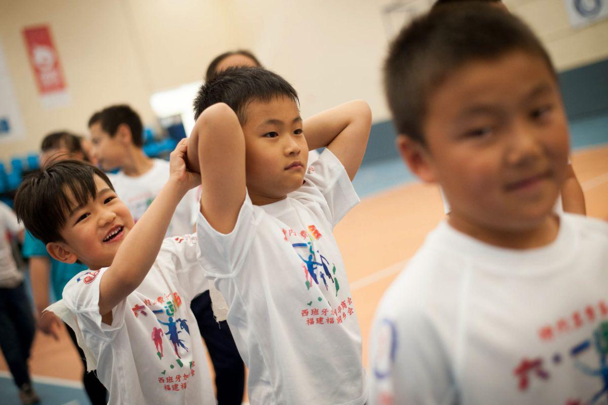 Día del Niño en la Comunidad China