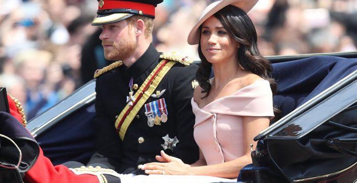 Meghan Markle y el príncipe Harry hacen su primera aparición tras su luna de miel