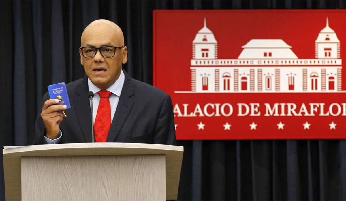 JORGE RODRÍGUEZ MINISTRO VENEZUELA
