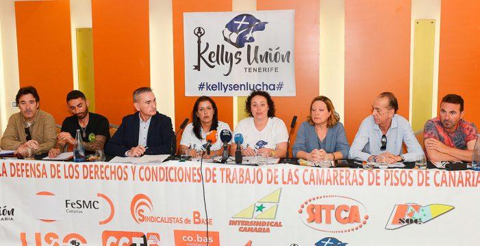 Las 'kellys' anuncian nuevas movilizaciones en julio y una huelga en Navidades