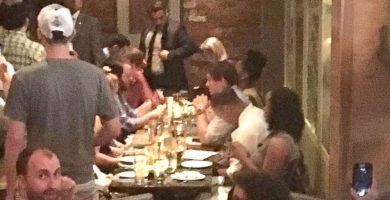 Abucheos contra Nielsen en un restaurante mexicano de Washington. / TWITTER