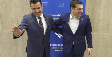 Macedonia y Grecia llegan a un acuerdo para poner fin a una disputa sobre el nombre del primer país. | EP