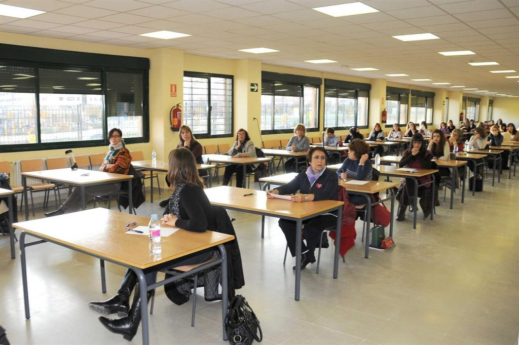 Imagen de archivo de prueba de oposiciones. | EP
