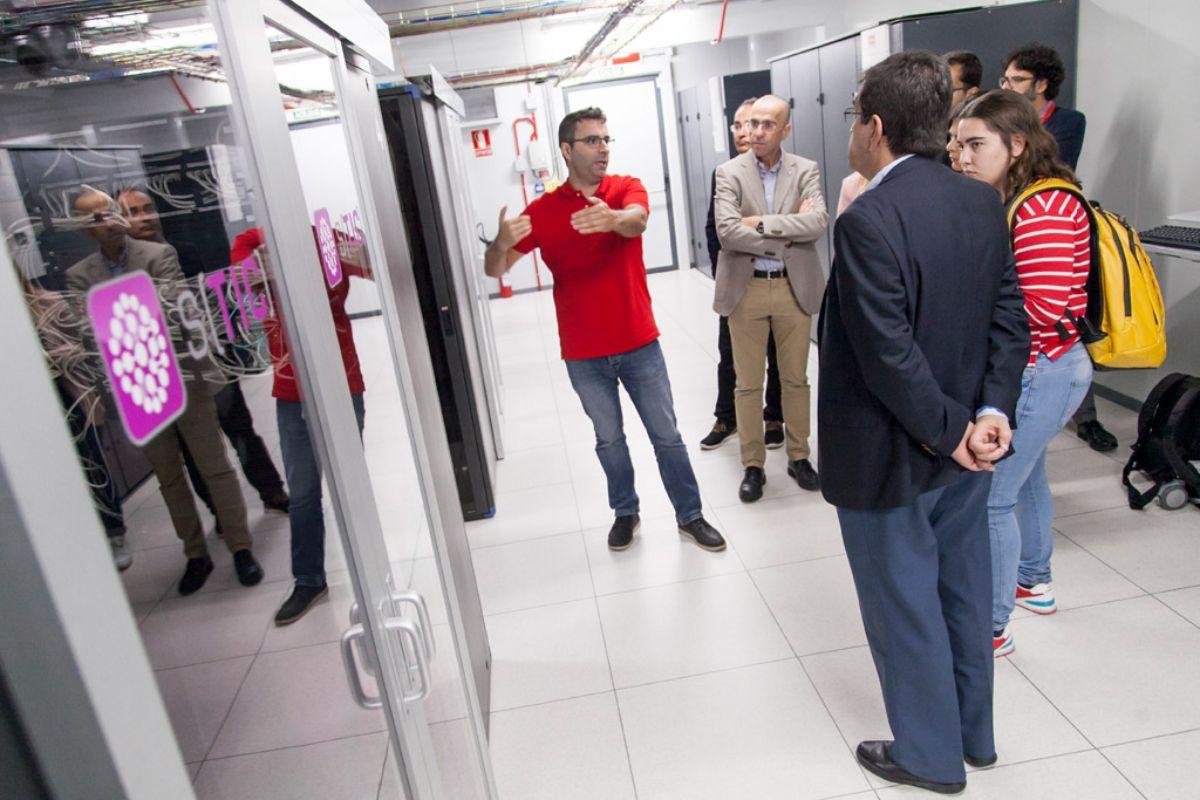 Centro de Proceso de Datos se encuentran en el Edificio Central de la ULL