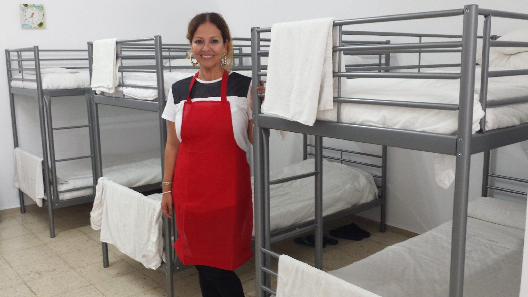 Solange Díaz de las Casas, directora, en las nuevas instalaciones. J. C. M.