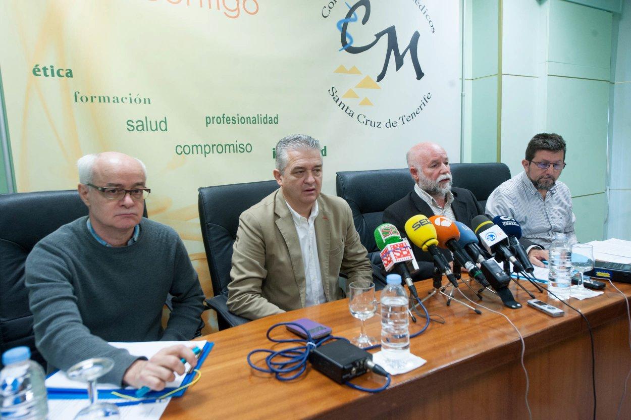 Los representantes de los pediatras expusieron ayer la situación de esta especialidad médica. Fran Pallero