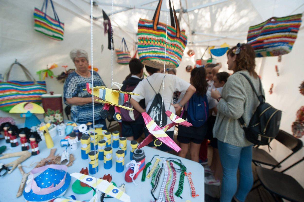 Santa Cruz organiza cada año una de las ferias que más actividades destinadas a la concienciación medioambiental concentra en toda Canarias. Fran Pallero