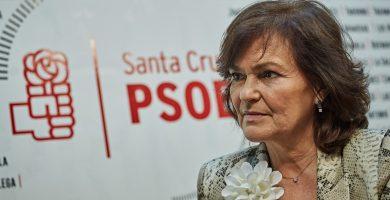 Carmen Calvo, vicepresidenta del Gobierno socialista