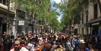 Magos y magas de romería en Madrid