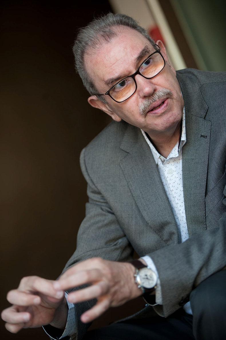Vicente Larraga, profesor de Investigación en el Consejo Superior de Investigaciones Científicas (CSIC). Fran Pallero