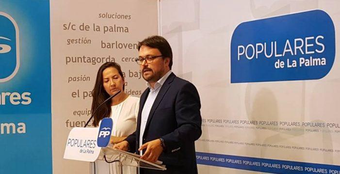 El Gobierno recibe la relación del Plan de Obras del Fdcan en La Palma de manos del Cabildo