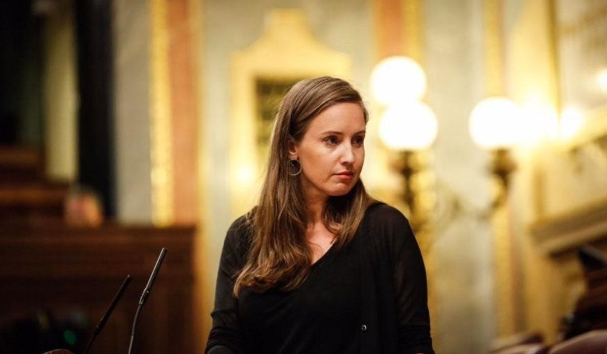 La diputada Melisa Rodríguez, portavoz adjunta de Ciudadanos en el Congreso. EP