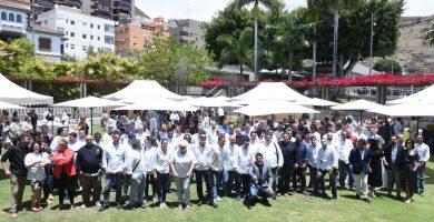 Quesos Finca de Uga y embutidos ibéricos encandilan a 200 chefs