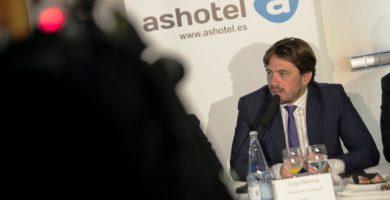 El presidente de la patronal hotelera, Jorge Marichal. DA