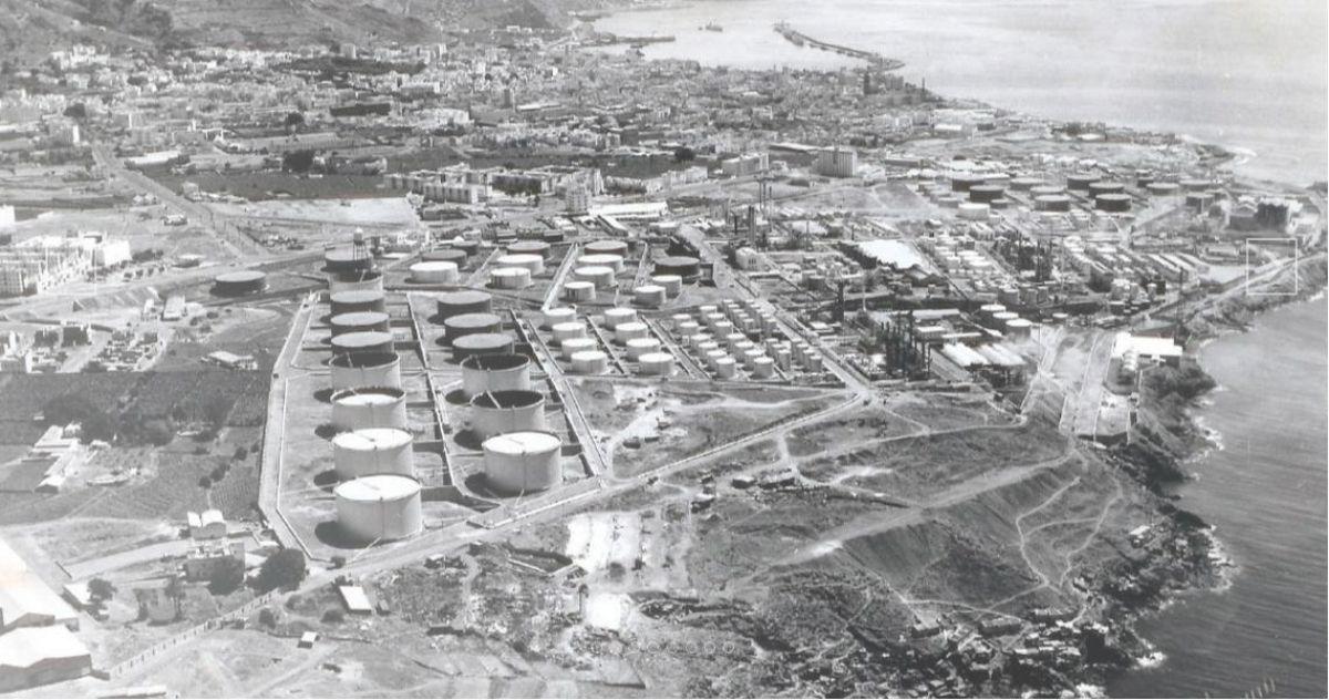 Refinería de Santa Cruz. 7 DA