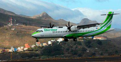 Las dos aerolíneas canarias se encuentran por encima de las peninsulares en el ranking de compañías nacionales. DA