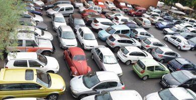 En la actualidad el solar ya se dedica a aparcamientos. | Foto: Sergio Méndez