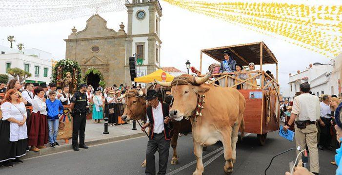Granadilla de Abona celebra su gran romería
