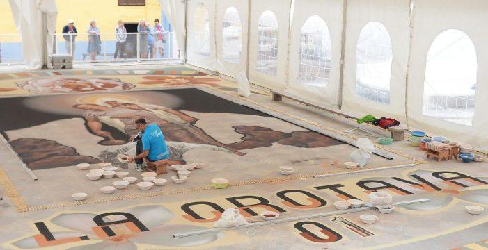 El magno tapiz de La Orotava: la 'capilla sixtina' del arte efímero