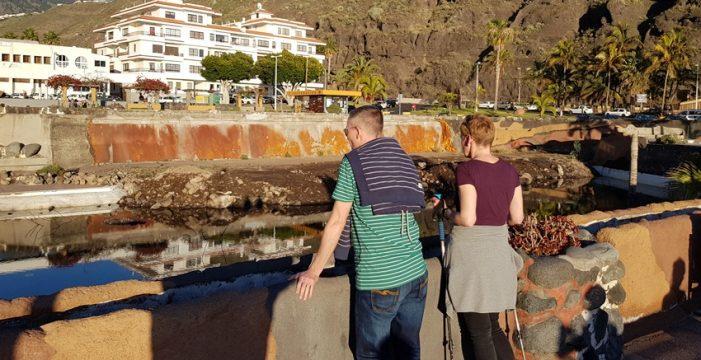 Una gran plaza cubrirá las piscinas inacabadas de Tazacorte