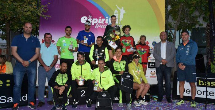 Premiados los atletas granadilleros más rápidos de La Espíritu Triabona 2018