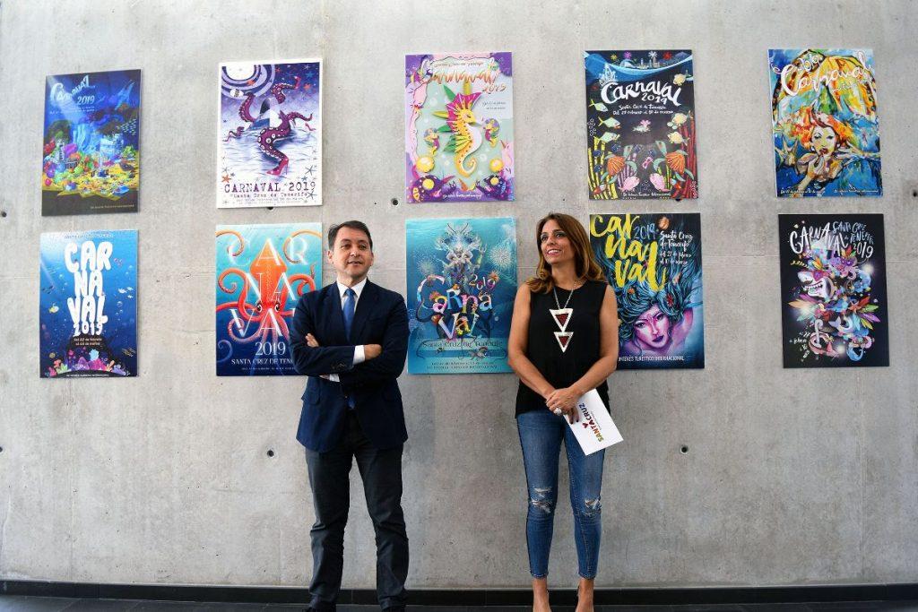 Presentación de candidatos a cartel del Carnaval 2019 de Santa Cruz de Tenerife. | Foto: Sergio Méndez